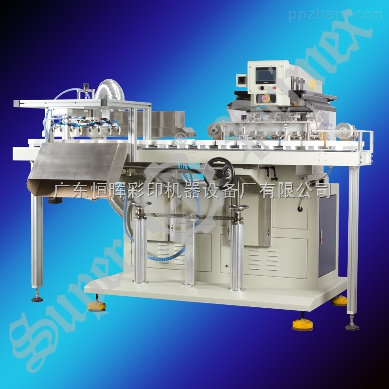 SPCCST-816D4C-四色密封油盅移印�C|高精度移印�C|伺服移印�C|多色移印�C