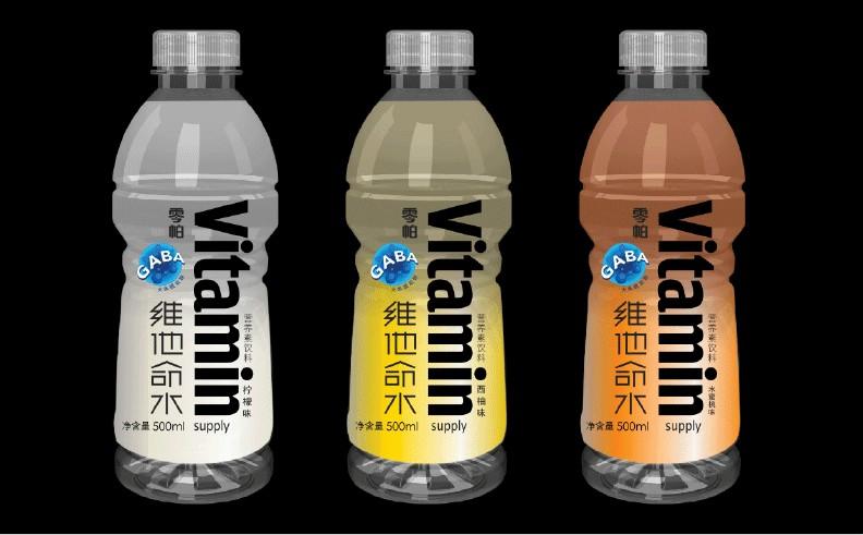 Vitamin维他命水包装-时与间品牌设计