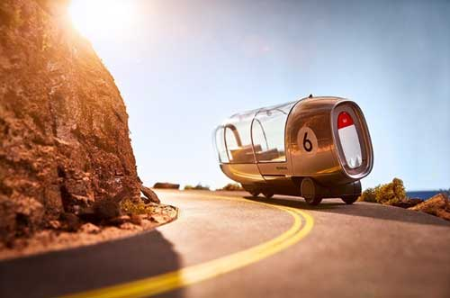 穿越世界 本田推出七款3D打印无人汽车